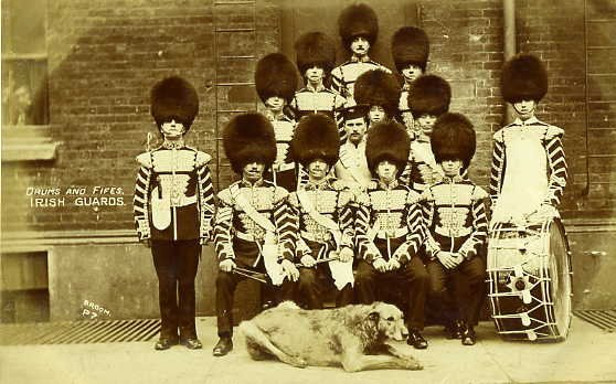 Drums & Fifes Irish Guards