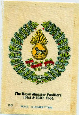 RMF silk from time of Boer War