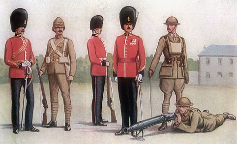 Uniforms of Royal Munster Fusiliers